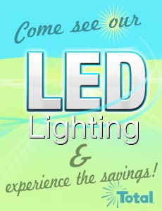 See our LED lighting!