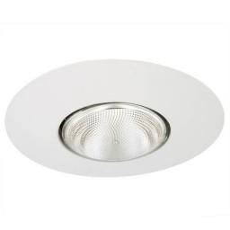 """6"""" Recessed lighting Par 30 R 30 white open trim"""