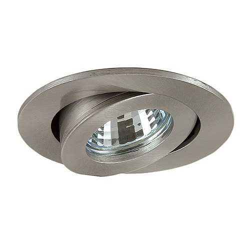 """6 Inch Par30 Adjustable Gimbal Ring Trim White Recessed: 3"""" Low Voltage Recessed Lighting Fully Adjustable Chrome"""