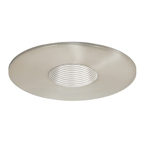 low voltage recessed lighting satin baffle satin pinhole trim