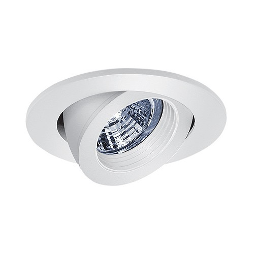 recessed lighting fully adjustable white baffle white gimbal ring trim. Black Bedroom Furniture Sets. Home Design Ideas