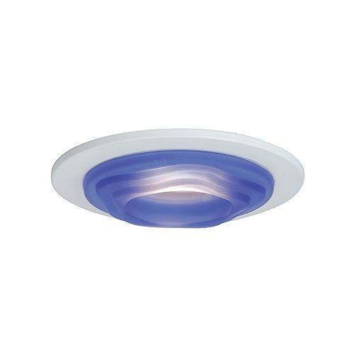 Recessed Lighting Glass Trim : Quot low voltage recessed lighting blue glass designer step