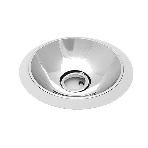 """6 Inch Par30 Adjustable Gimbal Ring Trim White Recessed: 6"""" Low Voltage Recessed Lighting Adjustable Specular Clear"""