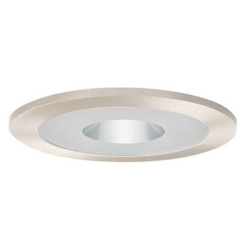 Recessed Lighting Glass Trim : Quot recessed lighting semi frosted glass lens clear chrome
