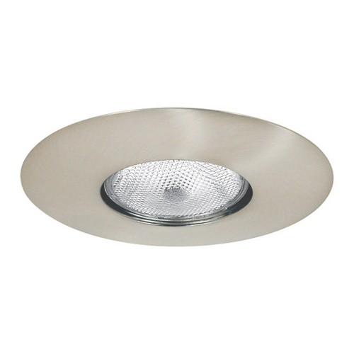 6 Recessed Lighting Par 30 R 30 Satin Nickel Open Trim