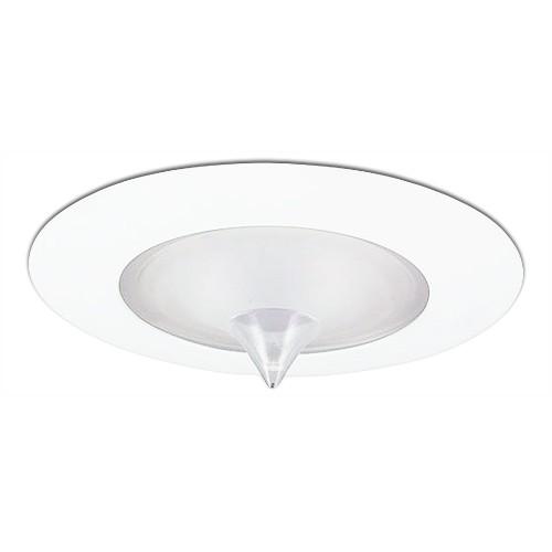 Recessed Lighting Glass Trim : Quot recessed lighting glass drop point lens shower white trim