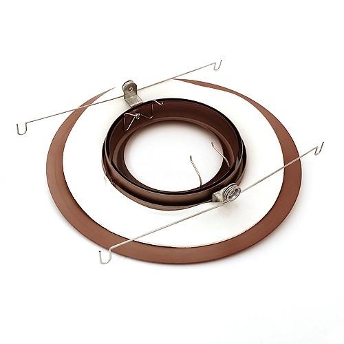 6 Quot Recessed Lighting Slope Bronze Gimbal Ring Trim