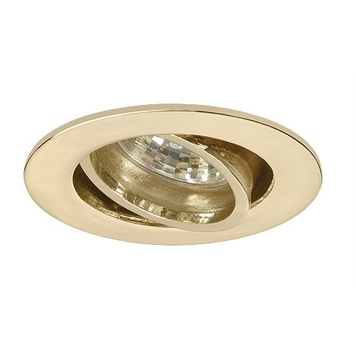 Led Under Cabinet Adjustable Polished Brass Recessed