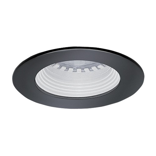 led under cabinet recessed white baffle black trim 12 volt 3 watt mr16