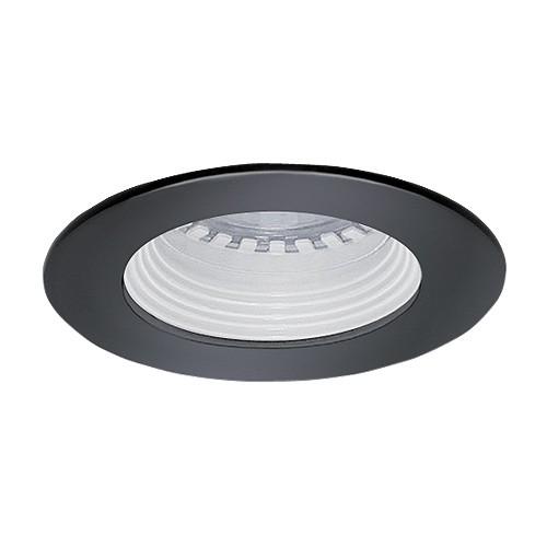 Trim To Hide Undercabinet Lights: Under Cabinet Recessed White Baffle Black Trim 12 Volt 35