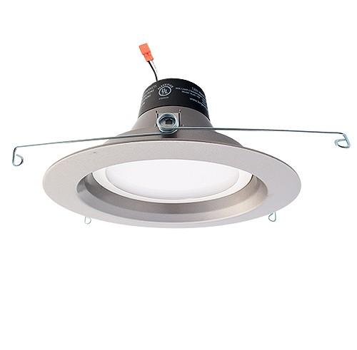 Green Watt G-DL6D-13W-50SILVER 6  dimmable LED recessed lighting 13watt retrofit silver reflector trim 5000K  sc 1 st  Total Recessed Lighting & Green Watt G-DL6D-13W-50SILVER 6