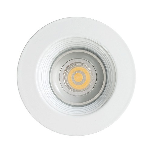 recessed white baffle white trim 12 volt 3 watt mr16 led tlsum led