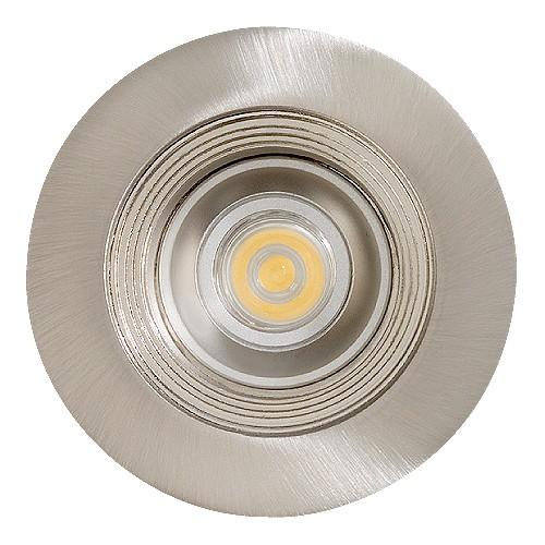 Trim To Hide Undercabinet Lights: LED Under Cabinet Recessed Satin Baffle Satin Trim 12 Volt