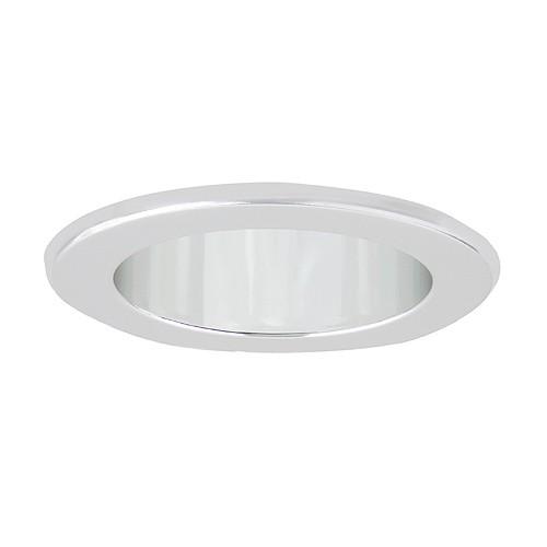 recessed lighting led retrofit clear chrome reflector chrome trim. Black Bedroom Furniture Sets. Home Design Ideas