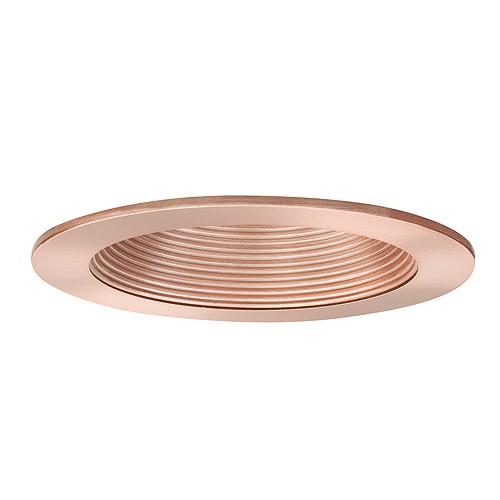 recessed lighting led retrofit copper baffle copper trim. Black Bedroom Furniture Sets. Home Design Ideas