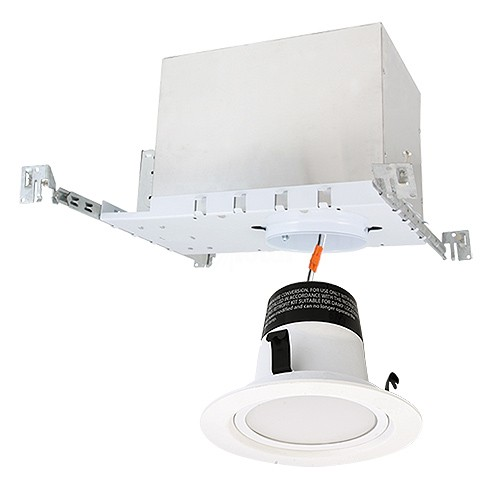 Led Recessed Lighting Kit New Construction : Quot led recessed lighting ic at new construction housing