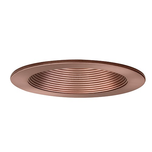 low voltage recessed lighting bronze stepped baffle trim adjustable
