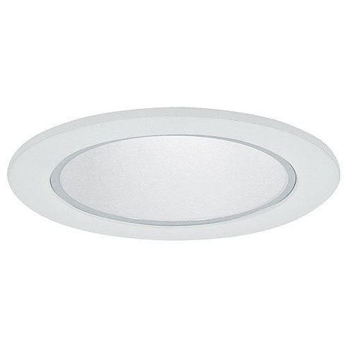Recessed Lighting Glass Trim : Quot recessed lighting clear glass lens specular white