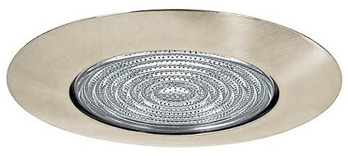 "Fresnel Glass Restoration Bath Light: 5"" Recessed Lighting Shower Trim With Fresnel Lens Satin"