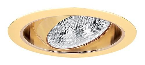 6 Quot Recessed Lighting Regressed Gold Eyeball Gold Reflector