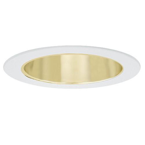 6 Quot Recessed Lighting Par 38 R 40 Specular Gold Reflector