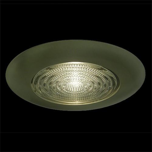 Canned Light Lenses : Quot recessed lighting fresnel lens white shower trim