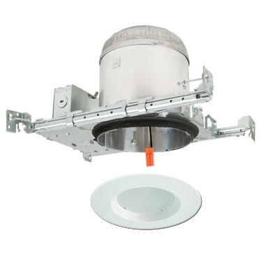 6 Led Recessed Lighting Kit New Construction Ic At Housing White Retrofit