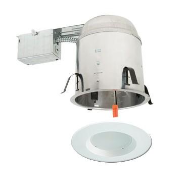 6 led recessed remodel lighting kit remodel ic at housing white led ret. Black Bedroom Furniture Sets. Home Design Ideas