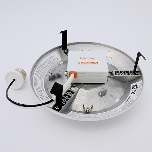 sylvania 72089 ultra led 10w light disc downlight recessed. Black Bedroom Furniture Sets. Home Design Ideas