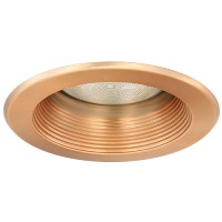 """5"""" Recessed lighting copper baffle trim copper"""