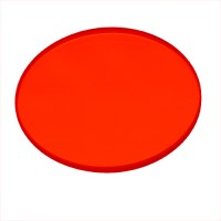 Recessed lighting Red dichroic glass filter low voltage MR 16 lens