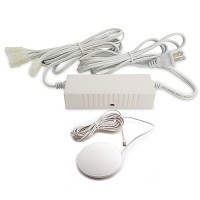 Under cabinet DIM60W-120-WH 60watt 12VAC electronic white transformer with tap dimmer 120VAC
