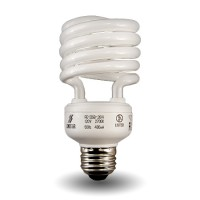Recessed lighting Dimmable Spiral Compact Fluorescent - CFL - 13watt - 27K