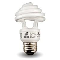 Top Spiral Compact Fluorescent Lamp - CFL - 12 watt - 27K