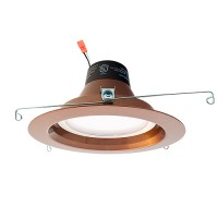 "Green Watt 6"" dimmable LED recessed lighting 18watt retrofit bronze reflector trim 4000K G-L7-DL6DWP-18W-4000KORB"