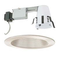 "4"" Low voltage recessed remodel satin trim kit"