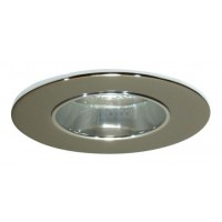 "2"" Recessed lighting chrome reflector chrome trim"