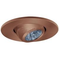 "2"" Recessed lighting adjustable MR11 bronze eyeball trim"