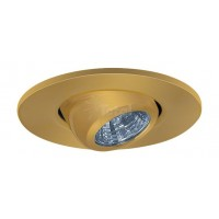 "2"" Recessed lighting adjustable MR11 copper eyeball trim"