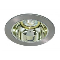 """4"""" Low voltage recessed lighting gold reflector chrome trim"""