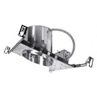 """6"""" Slope recessed new construction IC air tight housing"""