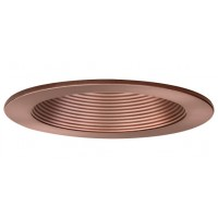 "4"" Recessed lighting bronze baffle bronze trim with metal socket bracket"