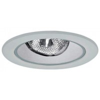 "4"" Recessed lighting adjustable socket bracket specular white reflector white trim"