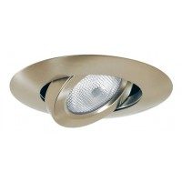 "5"" Recessed lighting adjustable satin gimbal trim"