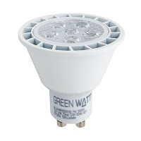 Recessed lighting Green Watt LED 7watt GU10 MR16 5000K 25° narrow flood light bulb dimmable G-L6-MR16GU10D-7W-50K-25