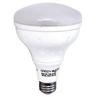 Recessed lighting Green Watt G-L2-BR30D-11W-2700K LED 11watt BR30 2700K flood light bulb dimmable