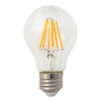 Recessed lighting LED vintage filament 7watt A19 Omni light bulb 2700K dimmable G-A19D7W27