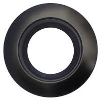 "Sylvania 70708 RT6/TRIM/BLK 6"" black reflector black trim ring kit for ULTRA RT6 LED retrofit trim"