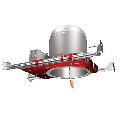 Fire Rated 6 inch LED recessed lighting air tight IC housing 1-Hour L500 P500 2-Hour L505