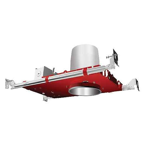 Fire Rated 4 inch recessed lighting air tight IC housing 1-Hour L500 P500 2-Hour L505
